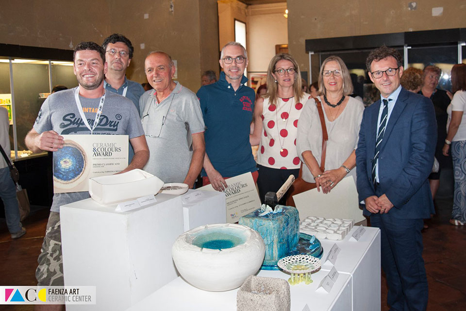 Ceramic Colour Award Faenza 2018